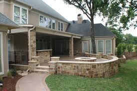 Fort Worth South Lake covered patio open patio outdoor kitchen and