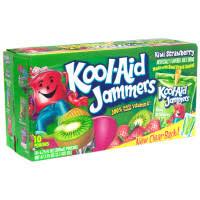kool aid jammers kiwi strawberry 10ct of 6oz ea