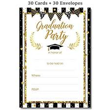 Graduation Party Invitation Template Graduation Party Invitations Cards With Envelopes 2019 Grad Congrats Announcements Supplies 30ct