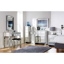 contemporary mirrored furniture. Mirror Inspiring Bedroom Set For You Glass Mirrored Contemporary Furniture O