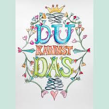 Postkarten Motivationssprüche Maren Schmidt