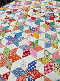 1438 best Quilts...Hexagons and EPP images on Pinterest | Hexagon ... & 60 degree diamonds. Hexagon QuiltingQuilt Block PatternsTriangle QuiltsTrianglesScrappy  ... Adamdwight.com