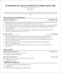 Warehouse Worker Resume Objective Best of Sample Resume For Warehouse Worker Arzamas
