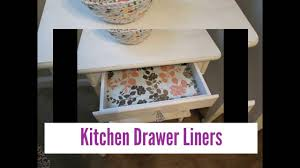 Kitchen Liners For Cabinets Kitchen Shelf Papers And Drawer Liners Youtube