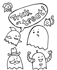 Small Picture Halloween Trick Or Treat Pluto Coloring Pages Hallowen Coloring