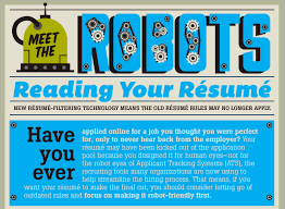 Meet the Robots Reading Your Rsum: Infographic