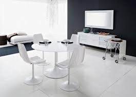 modern white chairs. Modern White Dining Table And Chairs F