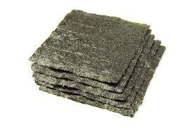 nori sheet amazon com earth circle organics nori seaweed 10 sheets dried