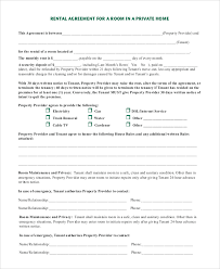 Rental House Rules Template. Room Rental Agreement Template Lovely ...