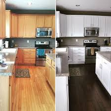 Kitchen color ideas with oak cabinets Honey Oak How To Paint Kitchen Cabinets Evolution Of Style Tips Tricks For Painting Oak Cabinets Evolution Of Style