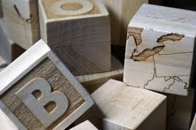 wood blocks thoughtful and creative gifts can be difficult to come by especially when applied to a one year old