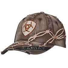 Ariat Cowboy Hat Size Chart Ariat Mens Distresed Barbed Wire Hat