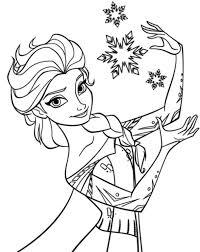 Kids N Funde Malvorlage Die Eiskönigin Anna Und Elsa Elsa 5