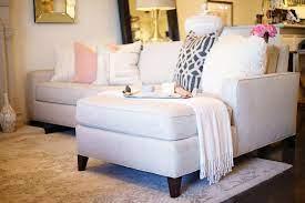 yellow leather sofa living room