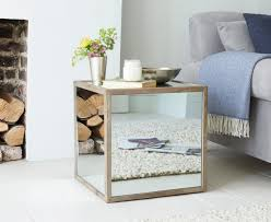 mirrored coffee table. Image Of: Stylish Mirrored Side Table Coffee