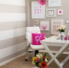 chic office decor. home office chic decor o