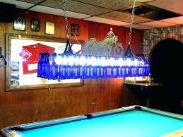 miller lite beer pool table lights lighting pertaining to remodel pertain
