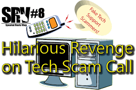 Ge Tech Support Hilarious Revenge On Fake Tech Support Scammers Spooled Reels