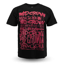 <b>Футболка Bad Crown</b> Dirty Tags (black/red) - купить в интернет ...