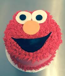 Elmo Smash Cake Alyssas Cakery