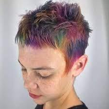 97 cool rainbow hair color ideas to