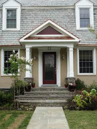 front door portico kitsSimple Hot Chocolate Three Ways  Brick colors Porticos and