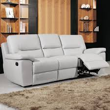 Light Grey Leather Recliner Sofa Gray Leather Sofa Recliner Leather Sofa Grey Reclining