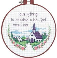 Easy Cross Stitch Patterns Simple Dimensions Everything Is Possible Beginner Cross Stitch Kit 48