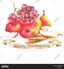 Apples To Apples Card Template Watercolor Autumn Image Photo Free Trial Bigstock