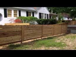 horizontal wood fence. Wonderful Fence Horizontal Wood Fence For Your House Inside
