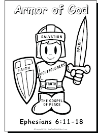 free printable bible lessons for preschoolers. Delighful Printable Printable Bible Coloring Pages For Preschoolers Armour Of God Colouring  Page Lessons Free  Inside Free Printable Bible Lessons For Preschoolers E