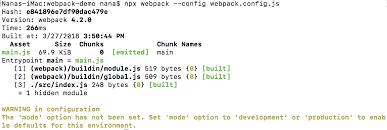 How to run and build webpack – Yang Nana – Medium