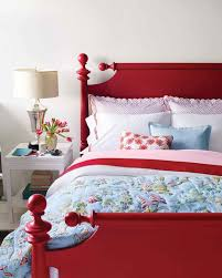 painted red furniture. accents painted red furniture o