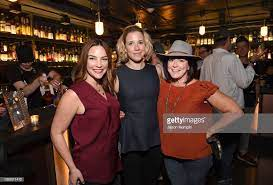 Bonnie Willoughby, Kalyna Kutny and Carey Nelson Burch attend the... News  Photo - Getty Images