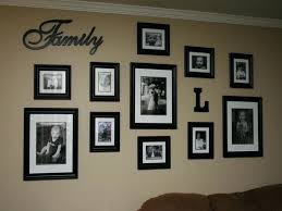 wall decoration ideas picture photo frame centerpiece