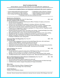 Resume Admin Assistant Resume Examples