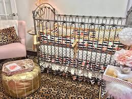 nursery room decor girl crib bedding