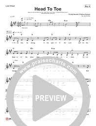 sweater weather piano sheet music head to toe the armor of god song lead sheet christy nockels