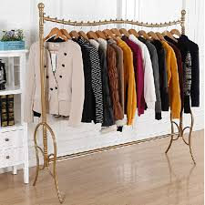 wardrobe racks boutique clothing racks commercial for sale brushed gold clothes rack with boutique clothing racks b77
