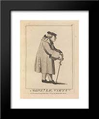 Amazon.com: Matthew Darly - Mary Darly - Dr. Robert Bragge - 20x24 Framed  Art by Museum Prints Titled: Monsieur Le Virtu: Posters & Prints