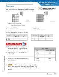 Tenths Hundredths Thousandths Chart 24 Printable Decimal Place Value Chart Tenths And Hundredths