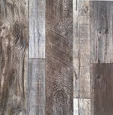 this barn wood style wallpaper has more