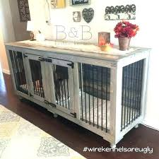 wooden dog crates cages uk double crate plans wood diy