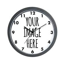 large office wall clocks.  Office Large Office Wall Clocks Custom Photo Clock Big With A