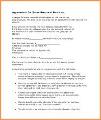 Snow Removal Contract Template Get Free Sample Snow Removal