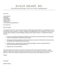nurse cover letter occupational therapy cover letter
