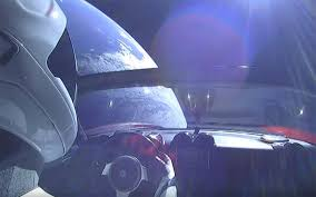 tesla car in space live. spacex launch: tesla roadster on falcon heavy car in space live