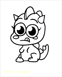 Monster Logo Coloring Pages At Getdrawingscom Free For Personal