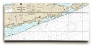 Shinnecock Bay Chart Shinnecock Light To Fire Island Light Ny Nautical Chart