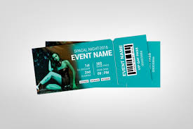 Ticket Design Party Event Ticket Design Template Template Paradise